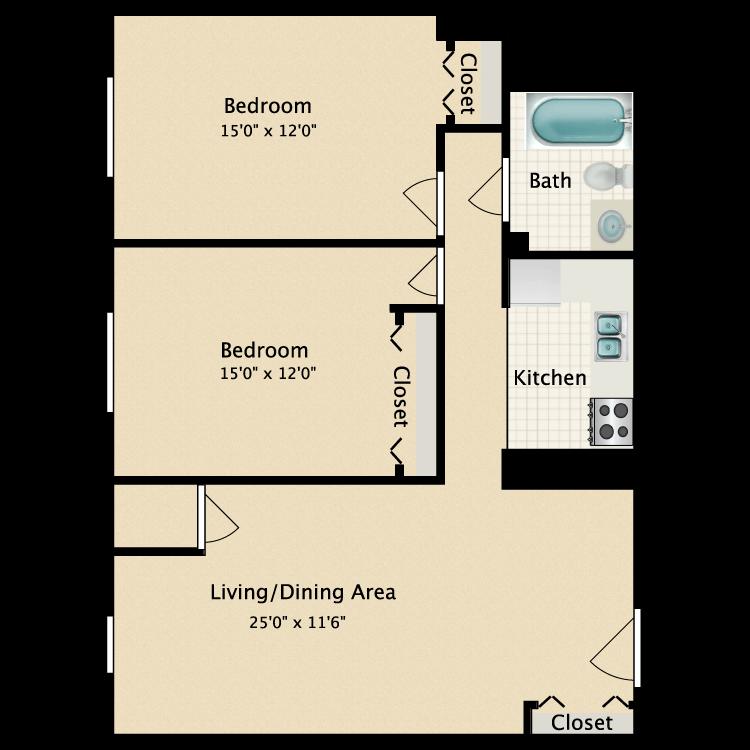 Floor plan image of McIntyre