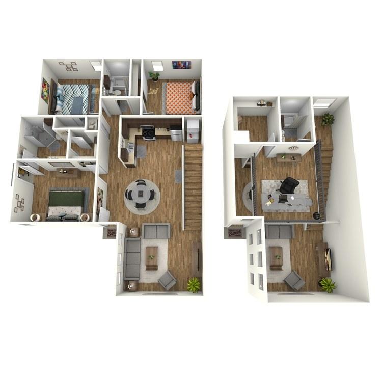 Floor plan image of Isabel