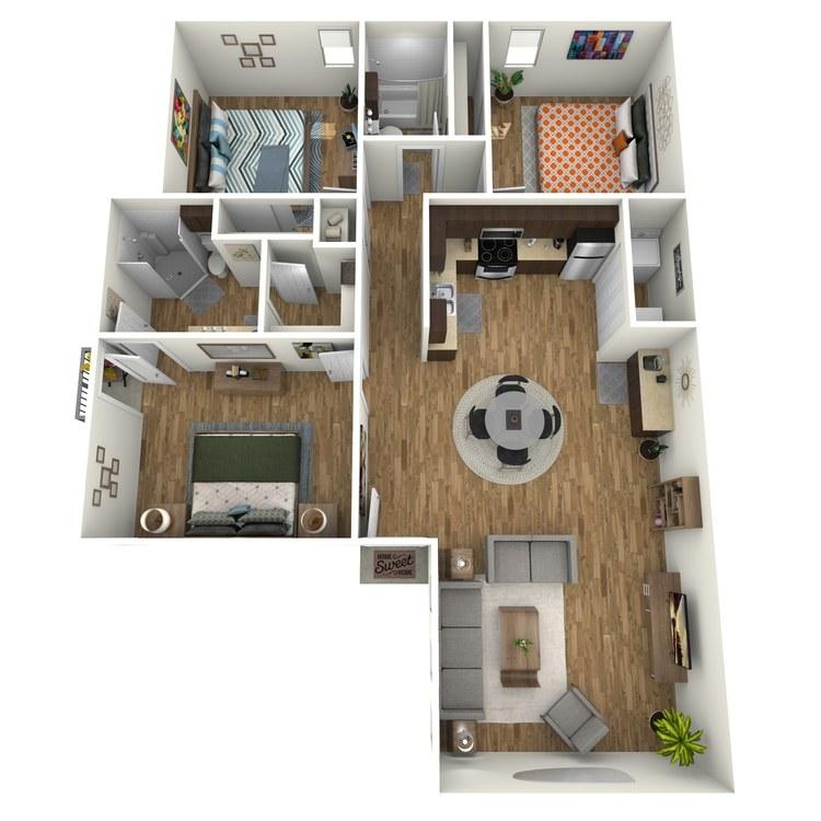 Floor plan image of Sofia