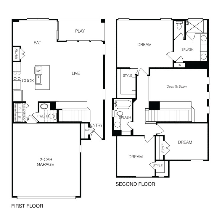 3 & 4 Bedroom Apartments in Georgetown, TX | Layouts