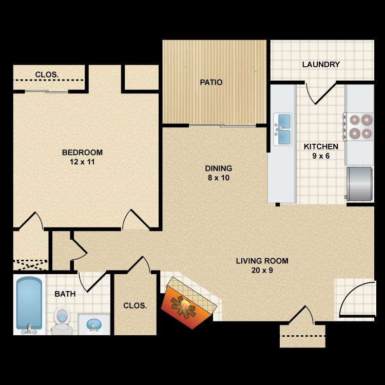 Floor plan image of A3 Longhorn