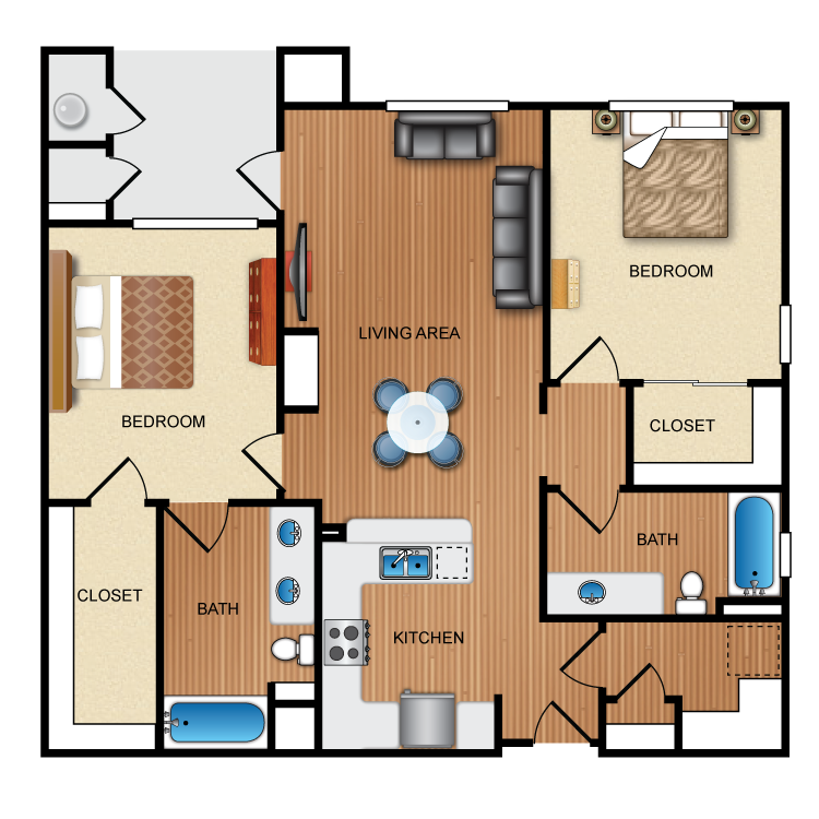 Evolve floor plan image