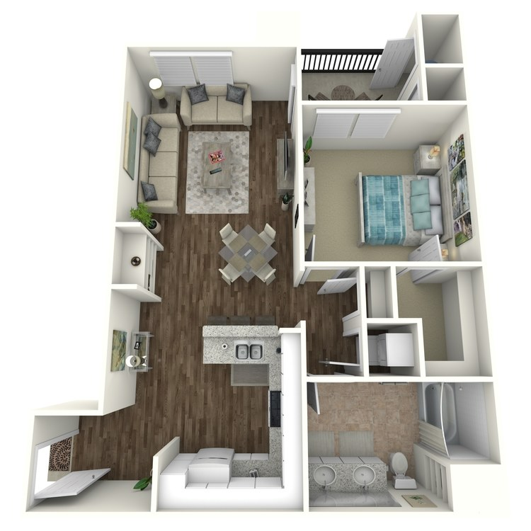 Achieve floor plan image