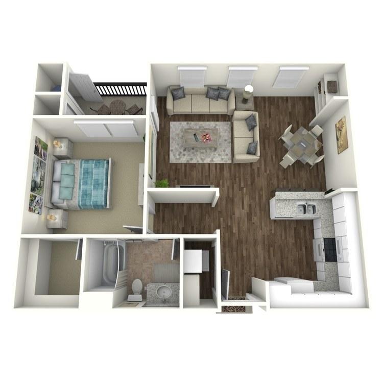 Inspire floor plan image