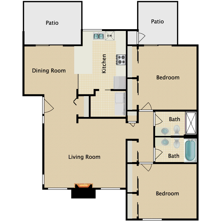 Floor plan image of Independence
