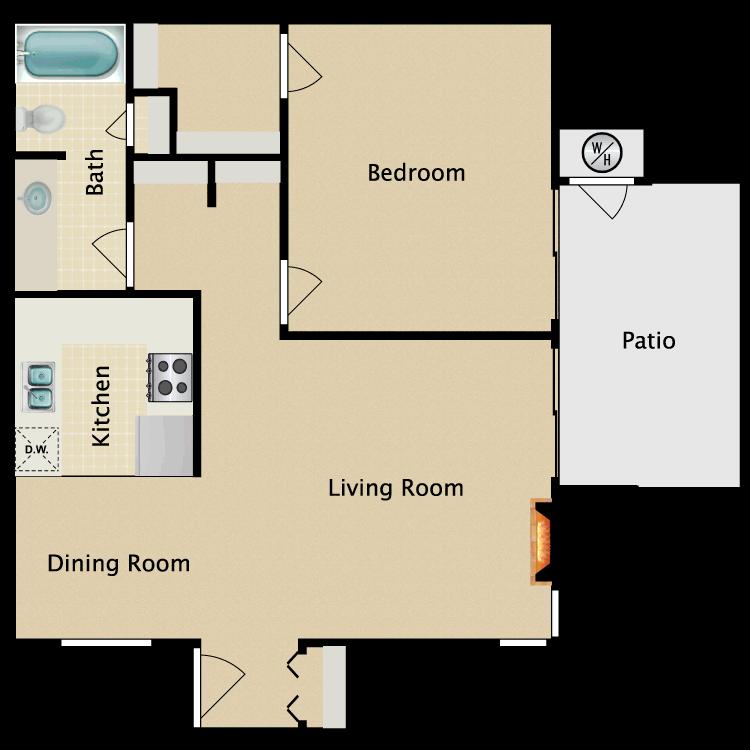 Floor plan image of Surrey