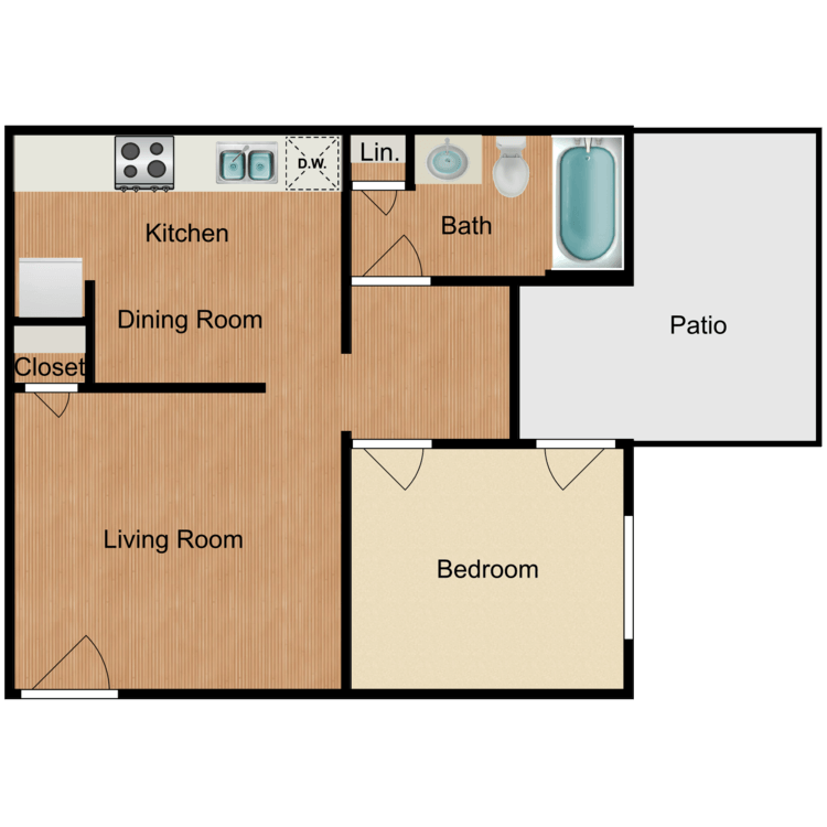 Floor plan image of Crown Valley