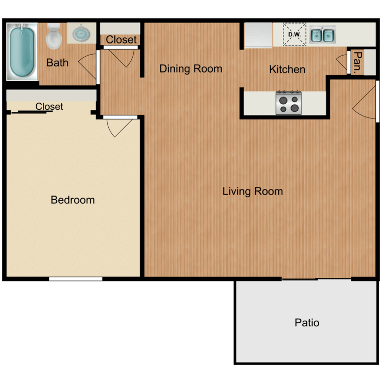 Floor plan image of Jacinto