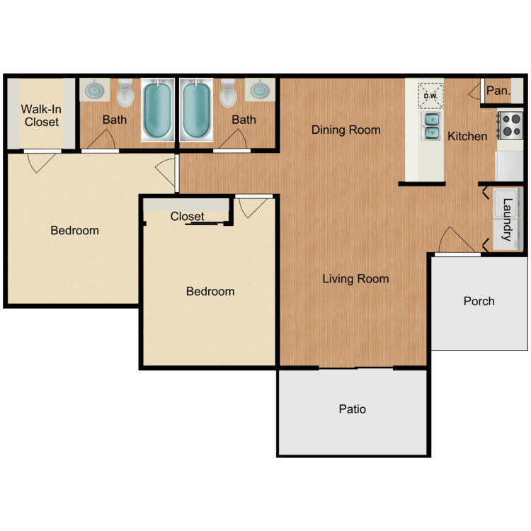 Floor plan image of Loma