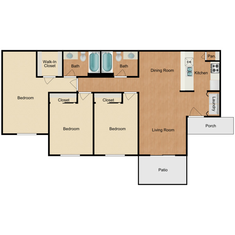 Floor plan image of Colina