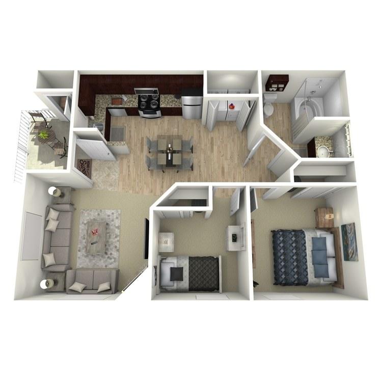 Floor plan image of C Standard