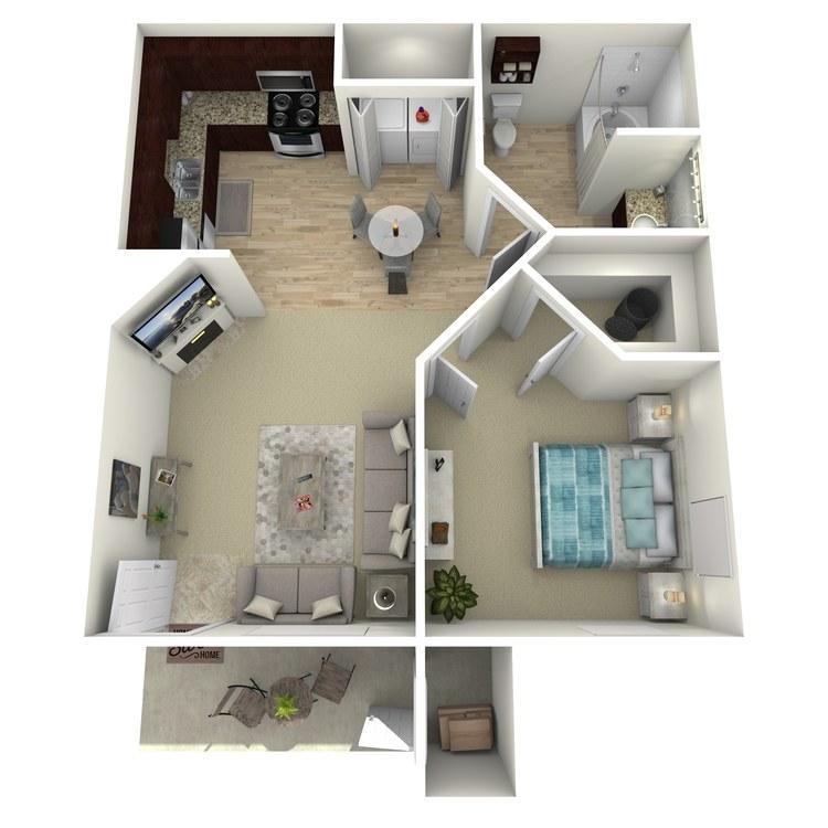 Floor plan image of A-Floor Plan