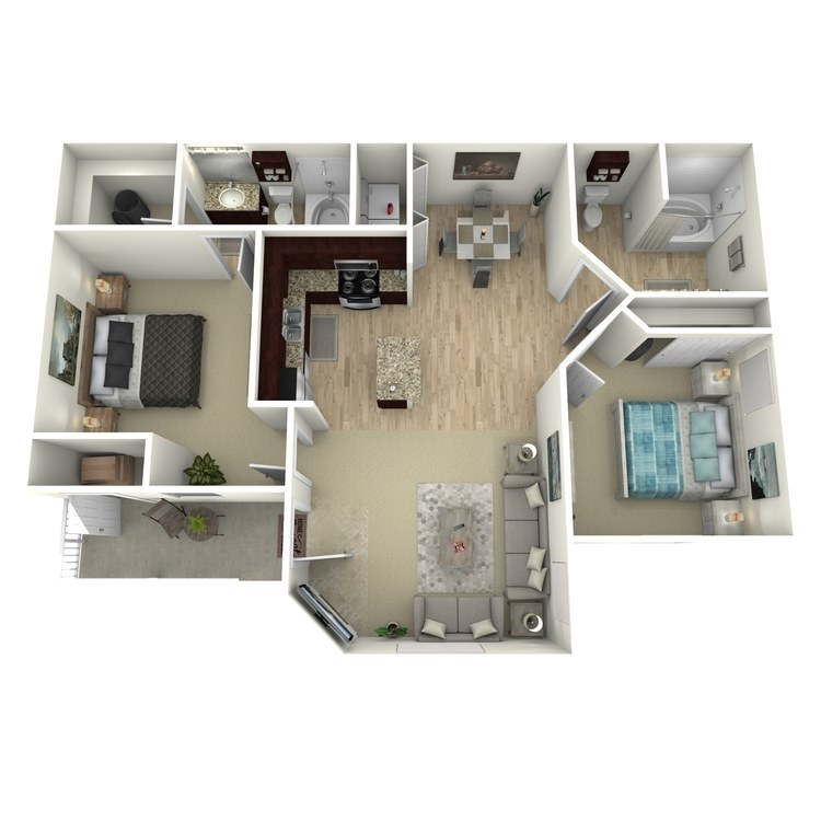 Floor plan image of D Standard