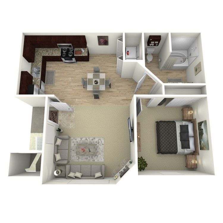 Floor plan image of B Standard