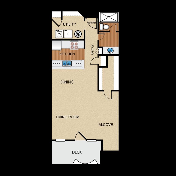 Floor plan image of Cabernet