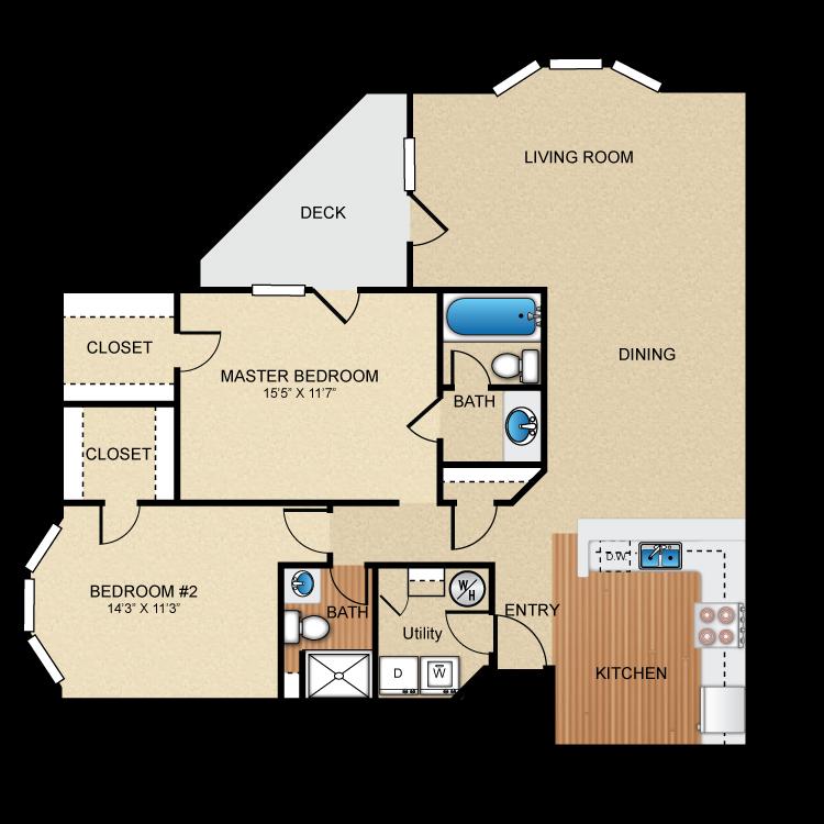 Floor plan image of Toscano