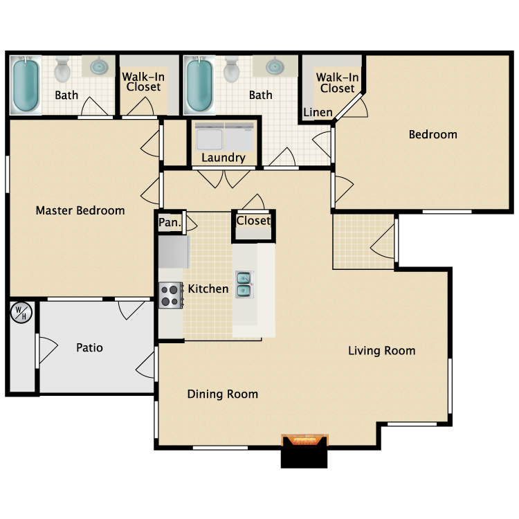 Floor plan image of Amalfi