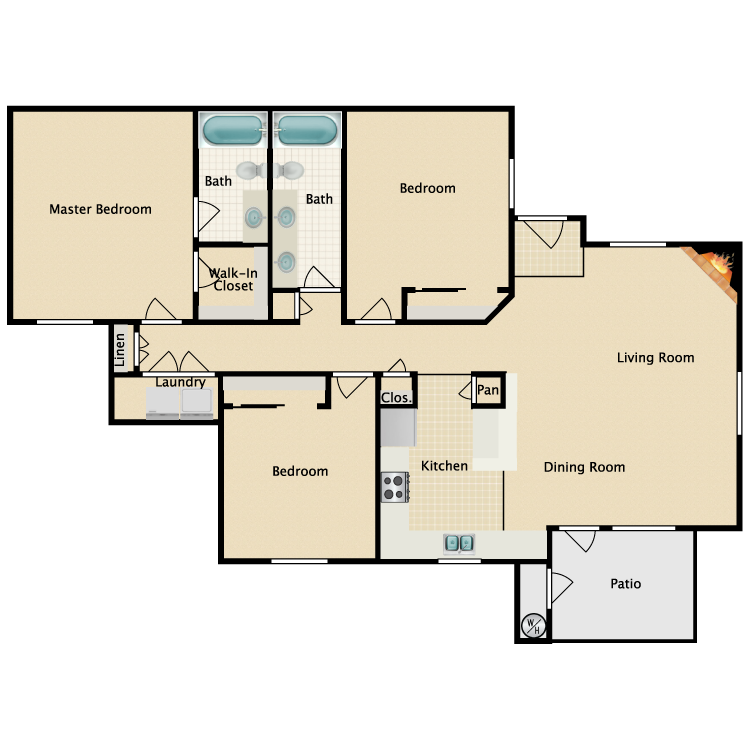Floor plan image of Ravello