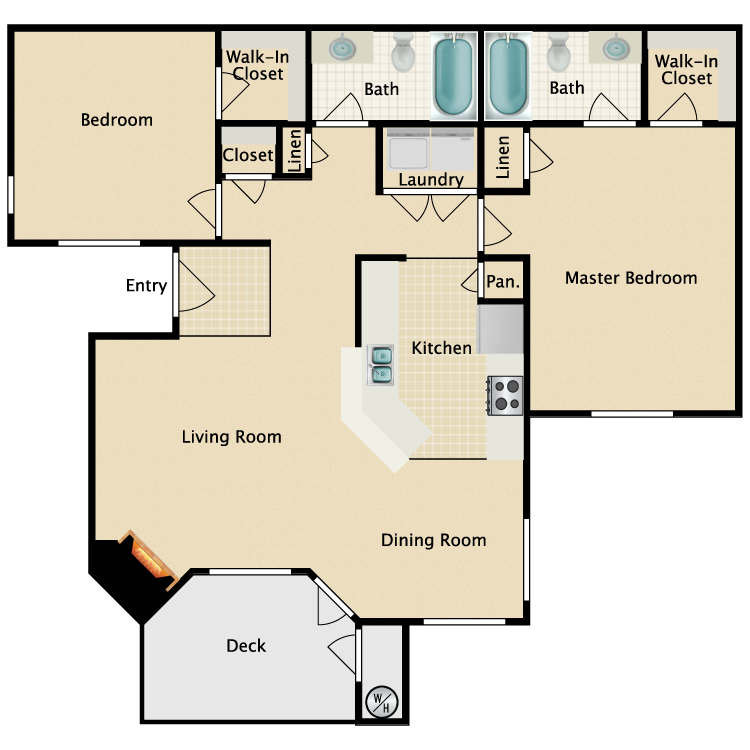 Floor plan image of Sorrento