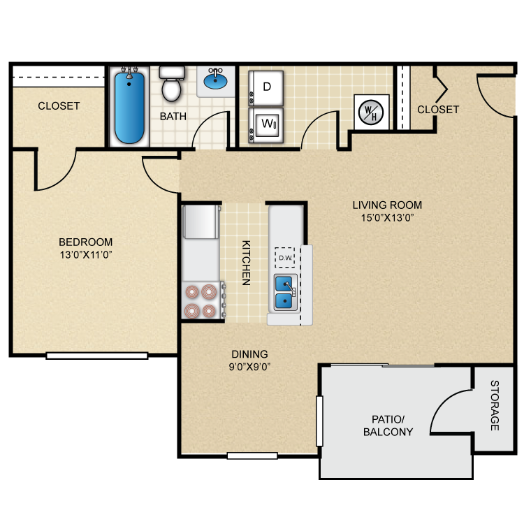 Floor plan image of Onyx
