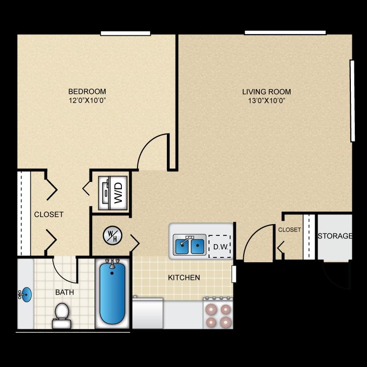 Floor plan image of Sandstone