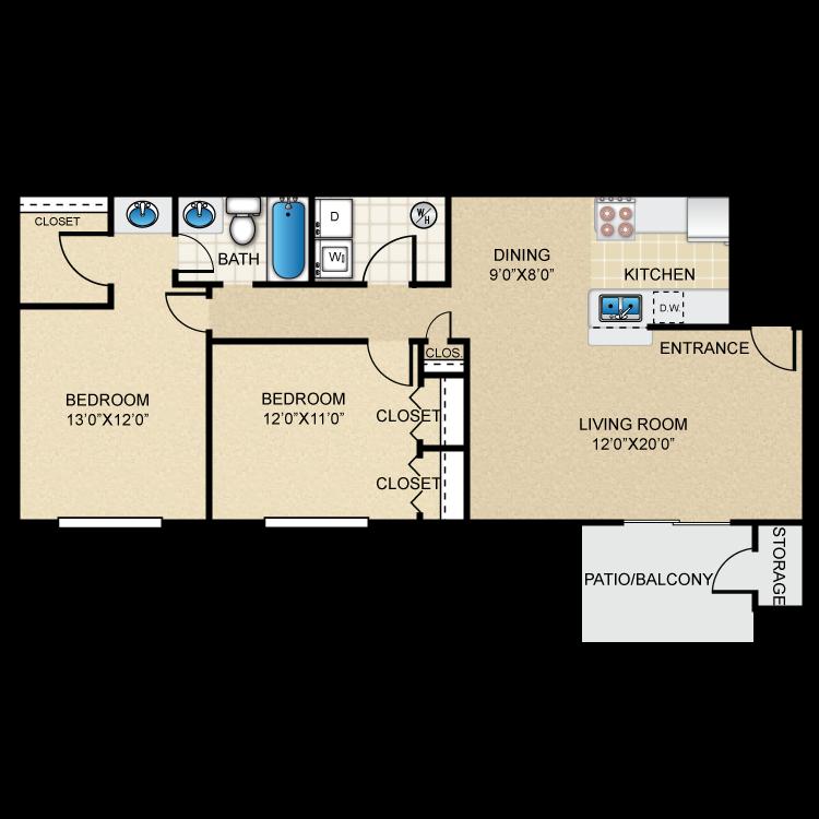 Floor plan image of Quartz