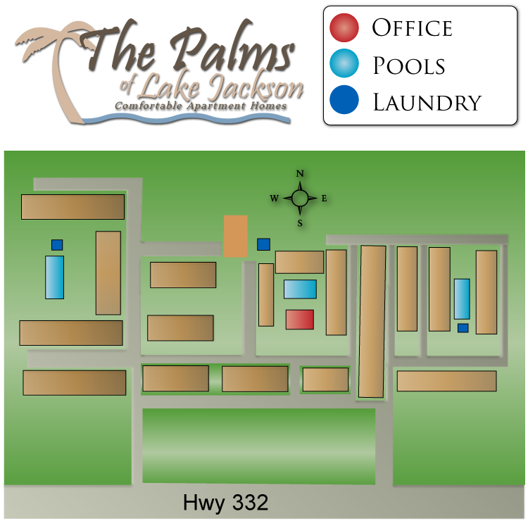 If you have a question regarding the relative location of an apartment home, please give us a call.