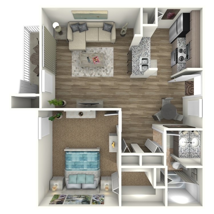 Floor plan image of Seagull