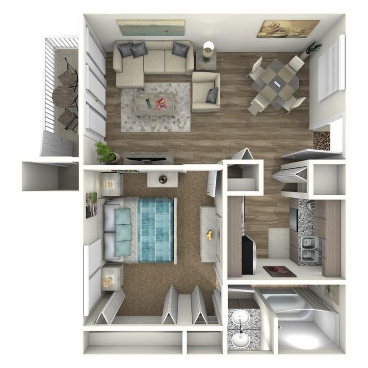 Floor plan image of Seahorse