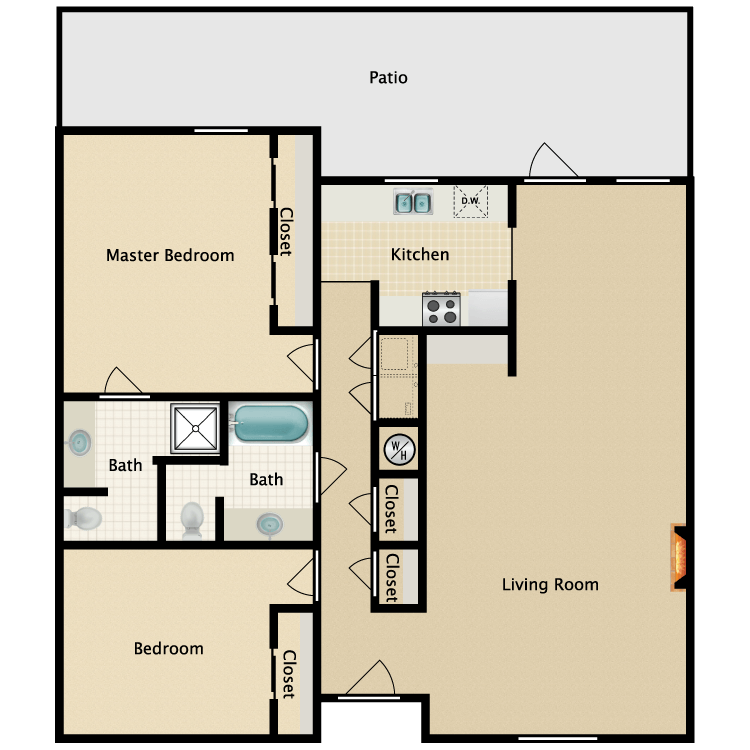 Floor plan image of The Lagoon