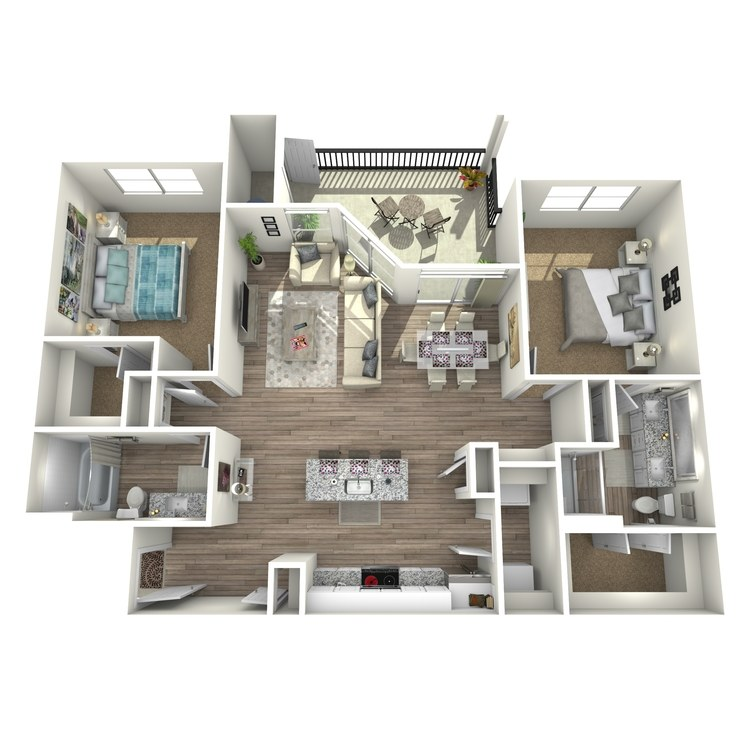 Floor plan image of Mountain Laurel