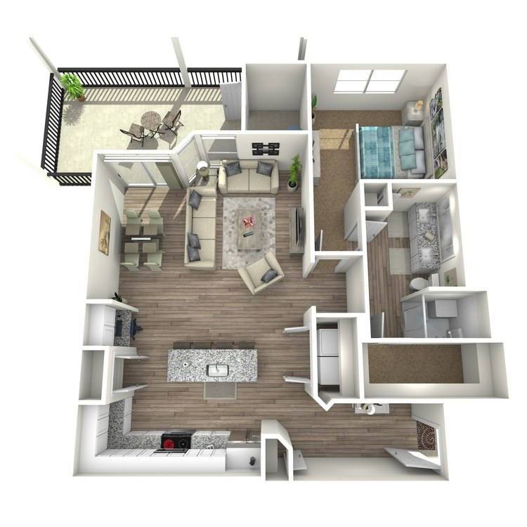 Floor plan image of Live Oak