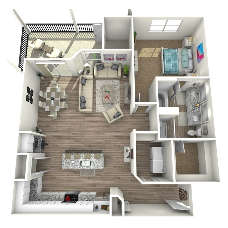 Floor plan image of Magnolia