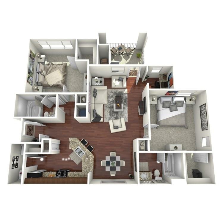 Floor plan image of Brookstone