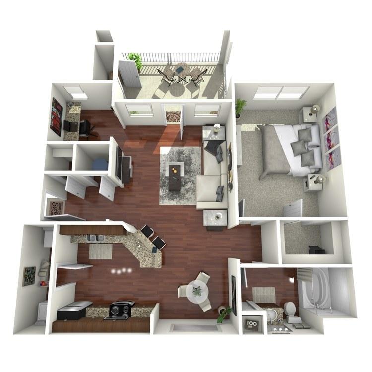 Floor plan image of Oakwood