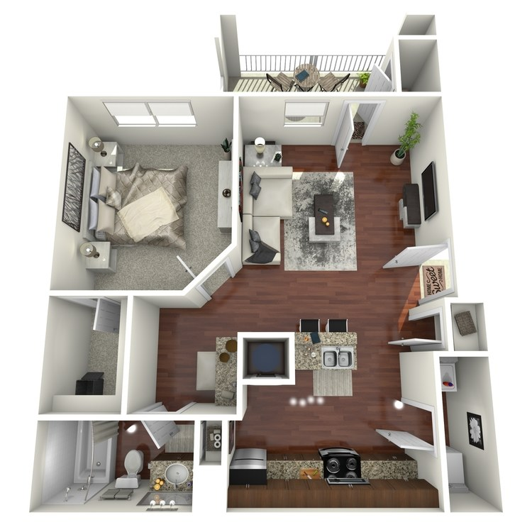 Floor plan image of Ridgecrest
