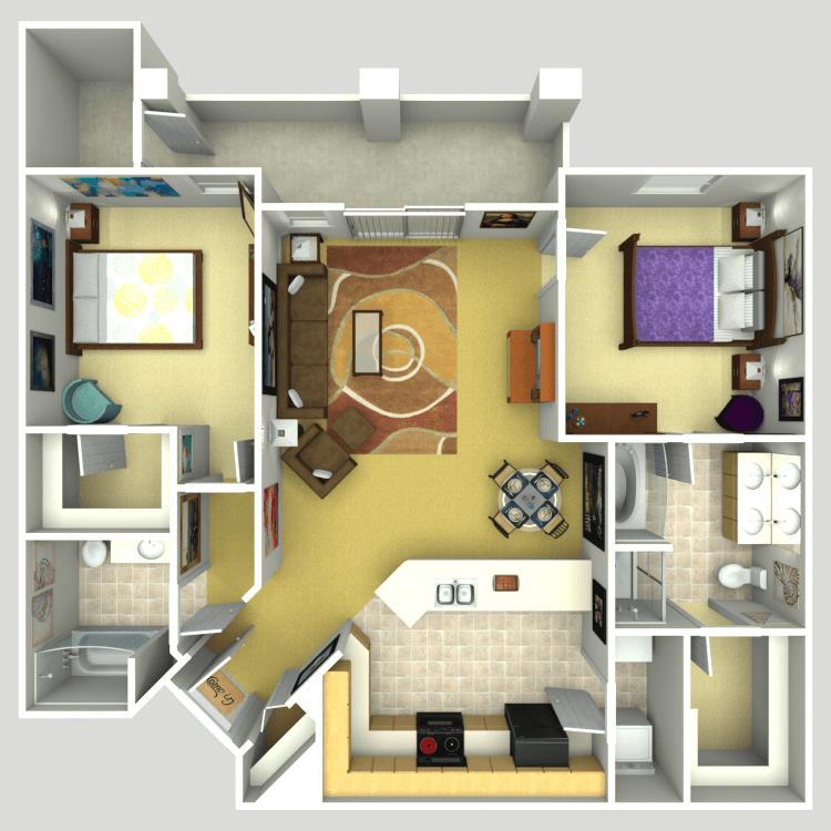 Floor plan image of Henley