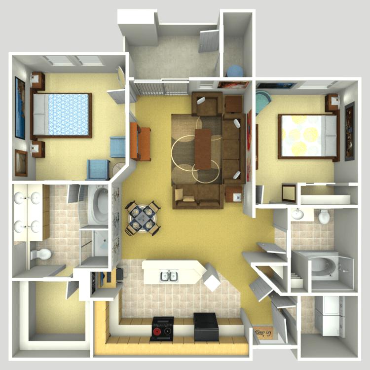 Floor plan image of Shea