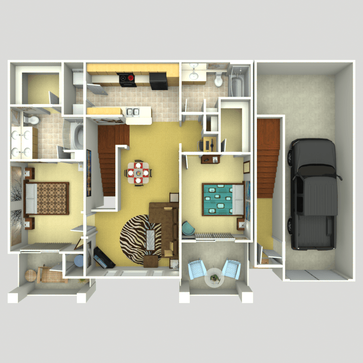 Floor plan image of Soho