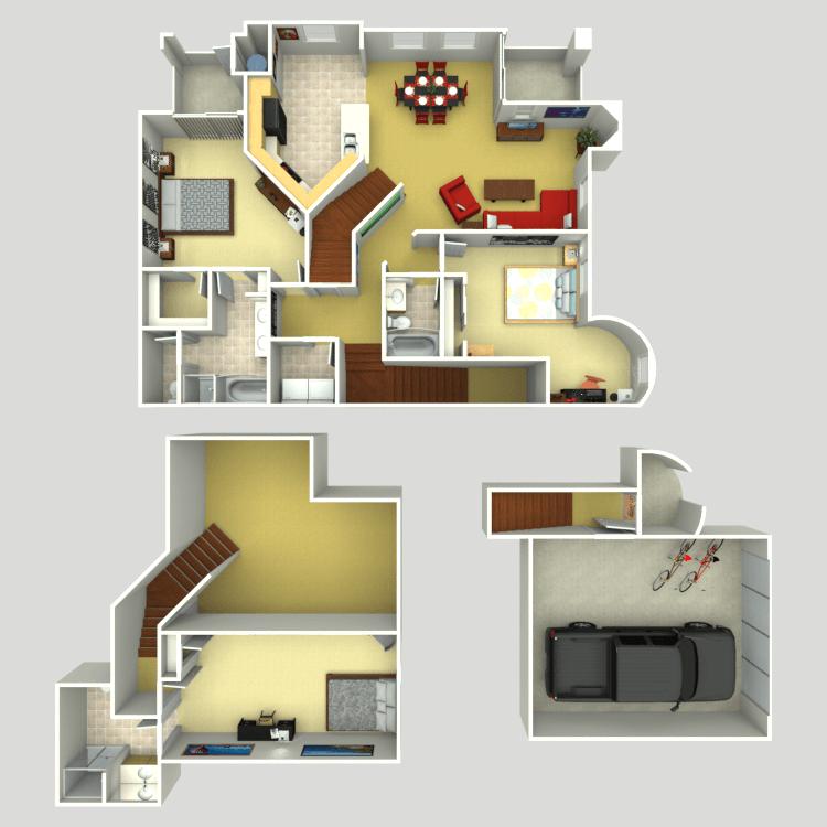 Floor plan image of Tribeca