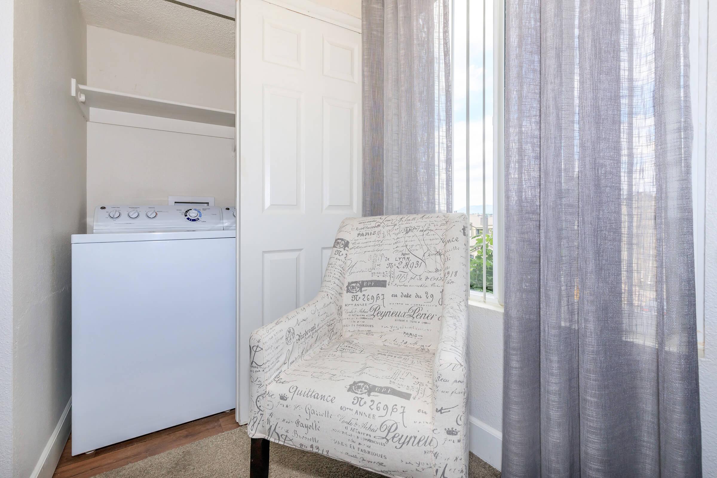 a shower curtain