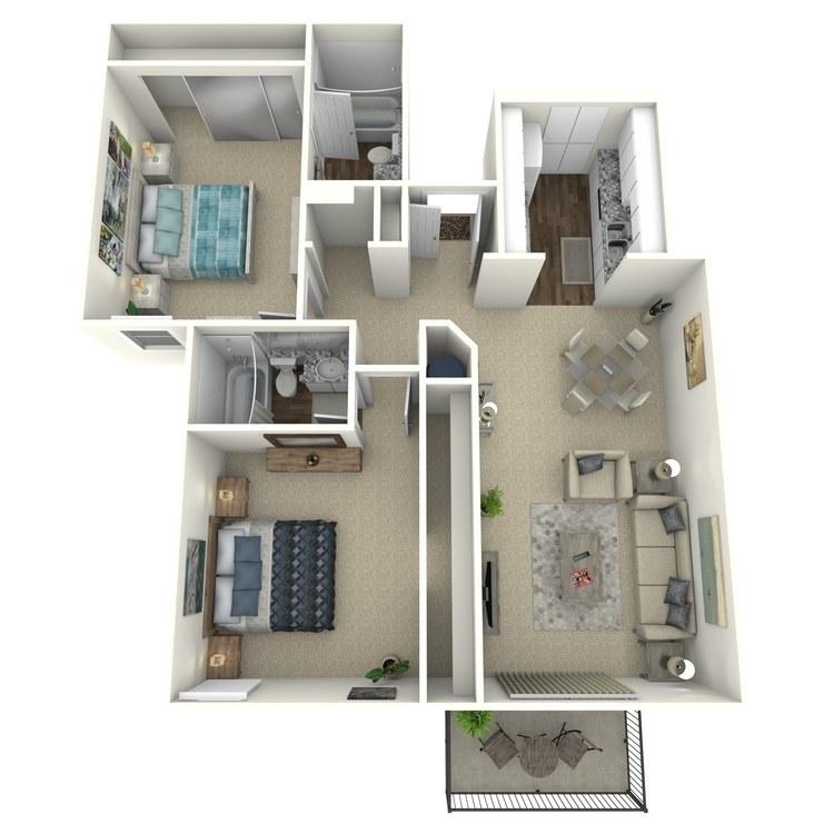 Plan C floor plan image