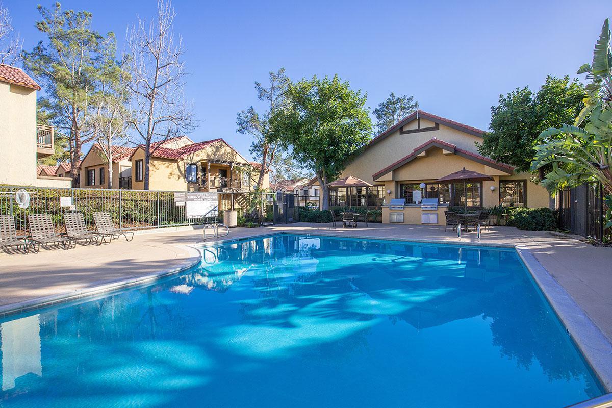 Villa La Paz Apartment Homes community pool