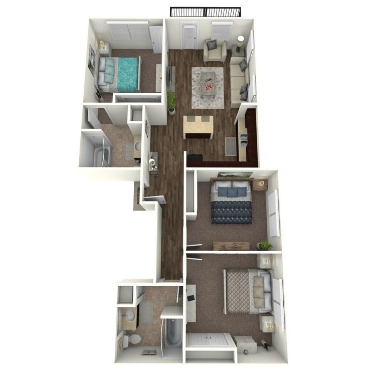 Floor plan image of Elysium