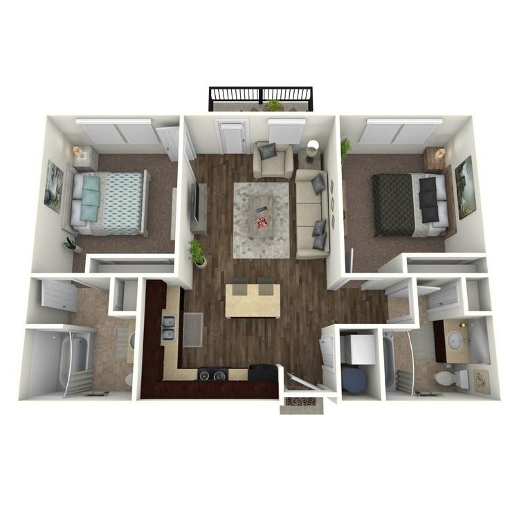 Floor plan image of Valhalla