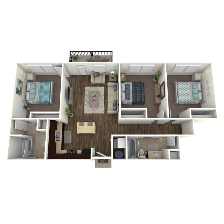 Floor plan image of Arcadia