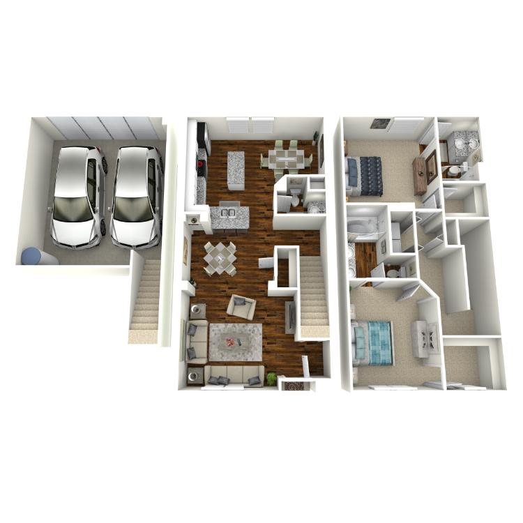 Floor plan image of Lyon