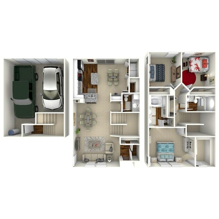 Floor plan image of Seine