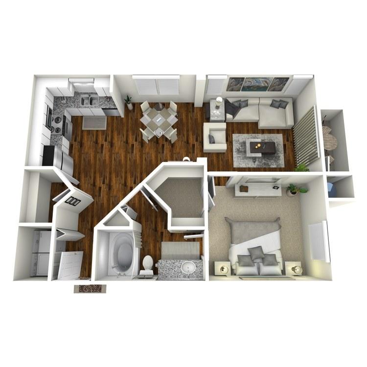 Floor plan image of Rhone