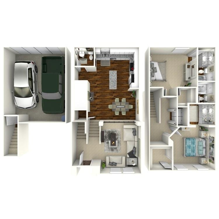 Floor plan image of Lourdes